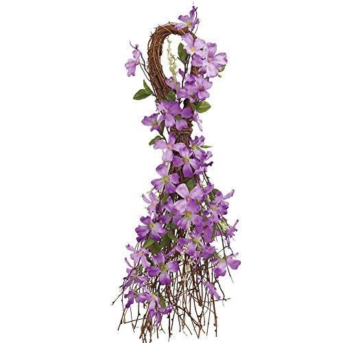 Forsythia Swag Floral Wall Decor, - Swag Summer
