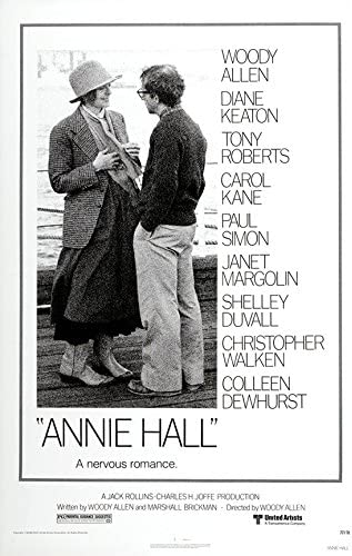 "Amazon.com: Annie Hall (Woody Allen) - (24"" X 36"") Movie Poster: Posters &  Prints"