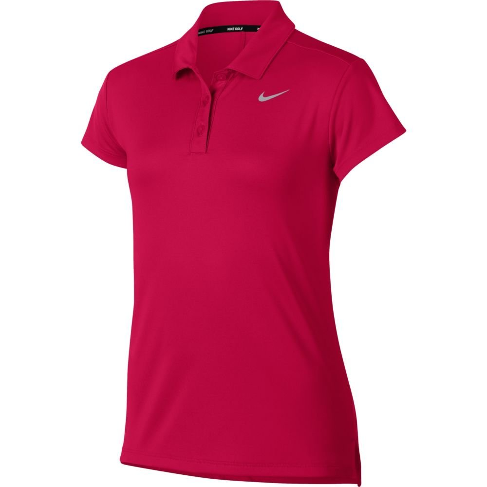 Nike New Girls DRI FIT Victory Shortsleeve Golf Polo