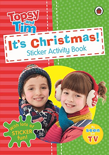 It's Christmas!: A Ladybird Topsy And Tim Sticker Activity Book -