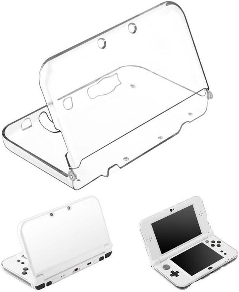 Amazon Com Nintendo 3ds Xl Ll Clear Crystal Protective Hard Shell