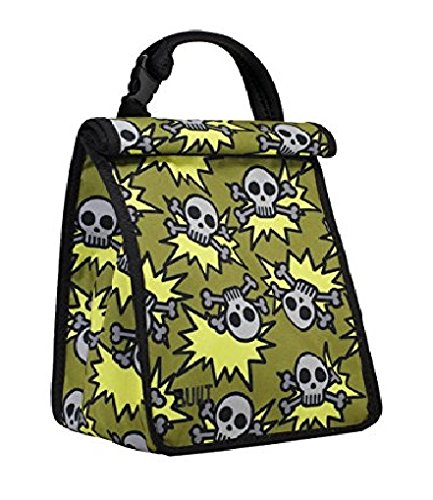 BUILT Neoprene Lunch Skeleton Olive