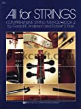 All for Strings Conductor Score Bk. 2 : Cello, Anderson, Gerald and Frost, Robert S., 0849732379