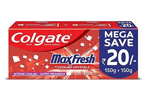 Colgate MaxFresh Anticavity Toothpaste Gel, Spicy Fresh