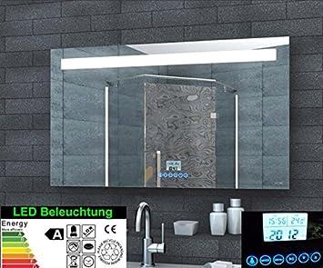 Badspiegel Mit Eingebautem Radio.Rmi Onlineshop Multimedia Badezimmer Spiegel Led Beleuchtung 51 Led