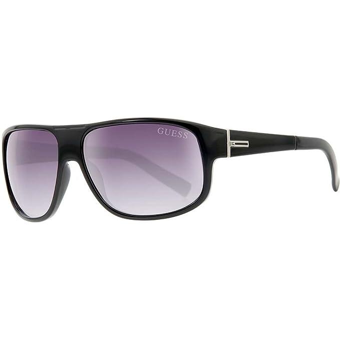 GUESS GU0130F-61C39, Gafas de Sol para Hombre, Black/Grey Blue,