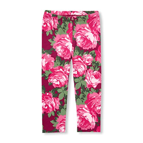 The Children's Place Baby Girls Printed Leggings, Rose Parade 4434, 2T