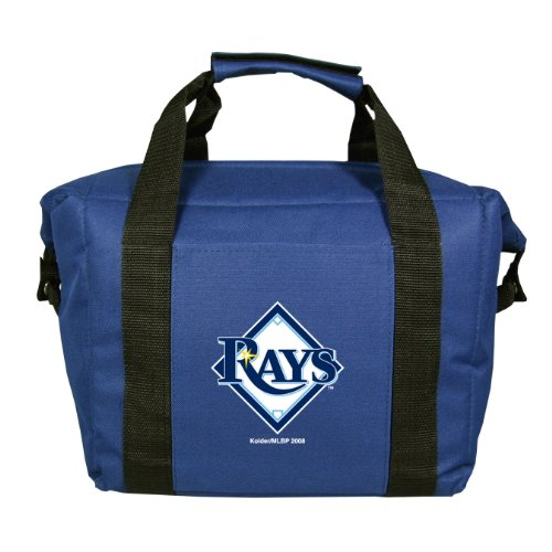 MLB Tampa Bay Devil Rays Soft Sided 12-Pack Cooler Bag (Clothes Bay Tampa Rays Devil)