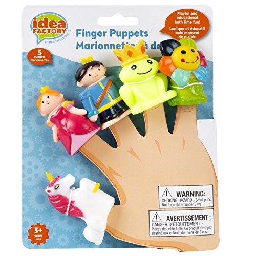 Princess Finger Puppets - Idea Factory Finger Puppets, Prince & Princess
