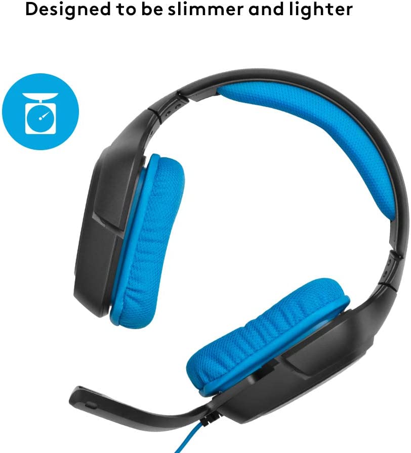 Logitech G430 - Auriculares Gaming (para PC, Xbox One, PS4 y ...