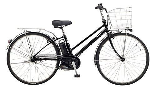Panasonic(パナソニック) 2018年モデル ティモEX 27インチ BE-ELET754 電動アシスト自転車 専用充電器付 B078HPNX8FB2:マットブラック