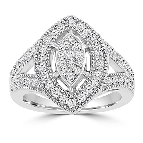0.85 Ct Ladies Diamond - 4
