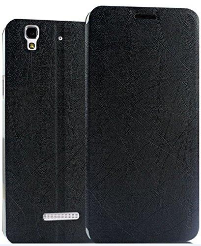 hot sales e2f79 3d328 Rain Flip Cover Case For Micromax Yu Yureka - Black