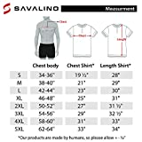SAVALINO Men's Bowling Sublimation Printed