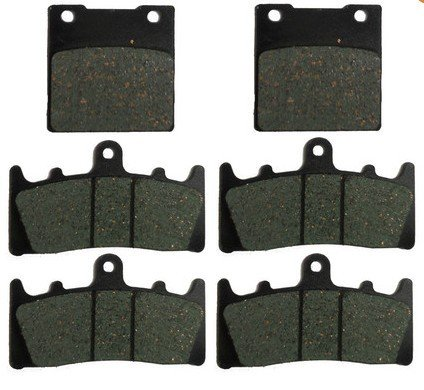 - Foreverun Motor Front and Rear Brake Pads for Suzuki GSX 1300 R Hayabusa 1999-2007