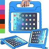 AVAWO Apple iPad Mini 1 2 3 Kids Case - Light Weight Shock Proof Handle Stand Kids for iPad Mini - iPad Mini 3rd Generation - iPad Mini 2 with Retina Display - Blue