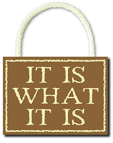 What Hanging Wooden Sign Word product image