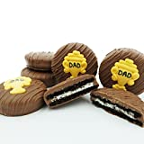 Philadelphia Candies Milk Chocolate Covered OREO Cookies, Dad Trophy Father's Day Gift 8 oz