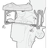 13-19 HONDA CB500X: Givi Outback Side Case Mounts