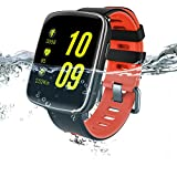AMOPEX Bluetooth Smart Watch - Fitness Tracker - Swimming Waterproof - One More Watchband and Charging Cable - Perfect gifts for birthday and holidays