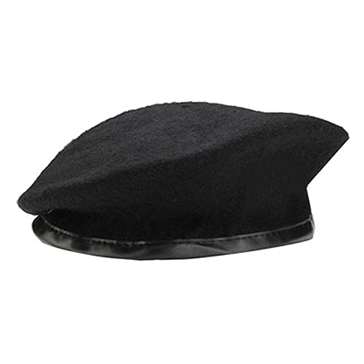 335679d7a09 Amazon.com  Pinksee Unisex Wool Military Army Hat Cap Beret Uniform Cap for  Men Women  Clothing
