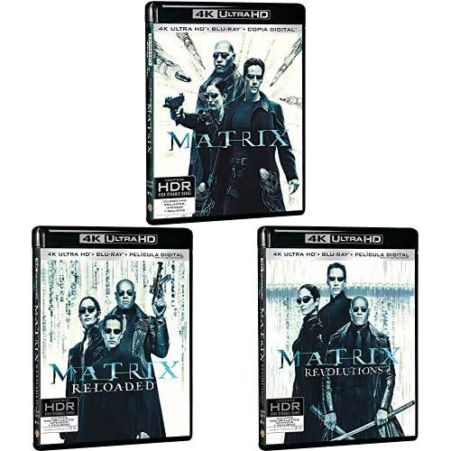 Pack Matrix - Incluye: Matrix + Matrix Reloaded + Blu-Ray + Matrix ...