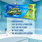Green Gobbler Drain Opening PAC'S - 8.25 oz 5 Pack. Best Drain Cleaner and Drain Opener, Best Clog Remover, Hair Grabber