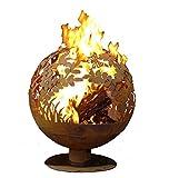 Esschert Design FF1017 Fire Globe, Rust