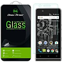 [2-Pack] Dmax Armor for Kodak Ektra [Tempered Glass] Screen Protector with Lifetime Replacement Warranty