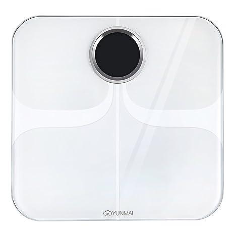 yunmai Premium versión Smart Bluetooth Báscula con grasa corporal digital scale Composición Monitor BT4.0