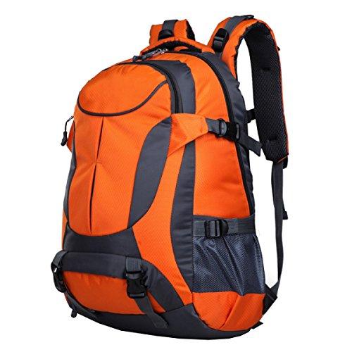 LAIDAYE Bolso Al Aire Libre Bolsas A Granel Bolsas De Deporte Bolsas De Alpinismo Bolsas De Viaje Mochilas Bolsas De Hombro Orange
