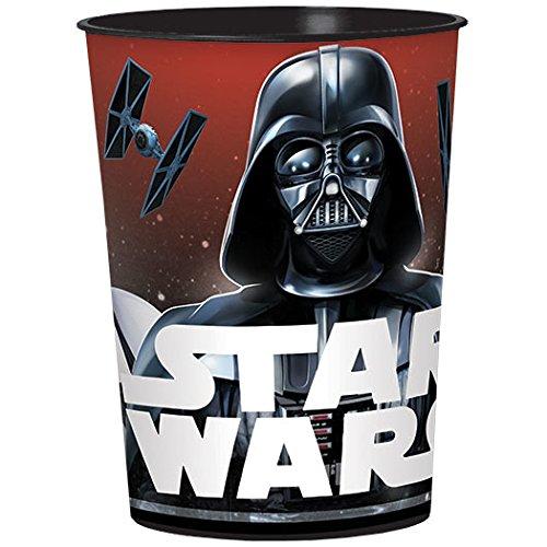 Amscan Star Wars Classic 16oz Plastic Favor Cup -