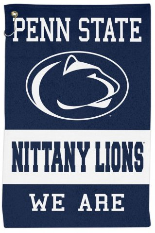 WinCraft NCAA Penn State Nittany Lions Sport Towel with Metal Grommet and Hook, 16x25 inches