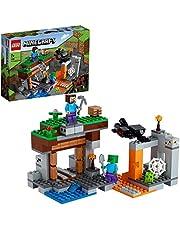 """LEGO 21166 Minecraft De """"verlaten"""" Mijn Met Poppetjes van een Spin, Steve en een Zombie, Speelgoed voor Kinderen vanaf 8 Jaar"""
