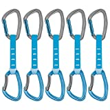 PETZL - Pack 6 Djinn Axess Quickdraw, Blue, 12 cm