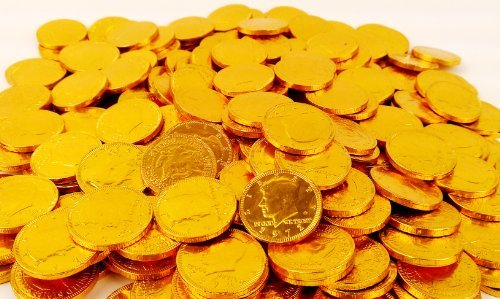 Fort Knox Milk Chocolate Gold Coins - 3