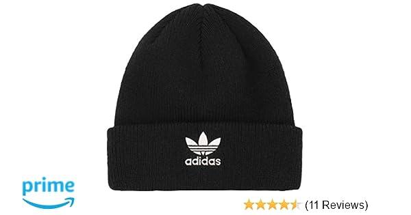 0326e0cebd2 Amazon.com  adidas Boys   Youth Originals Trefoil Beanie