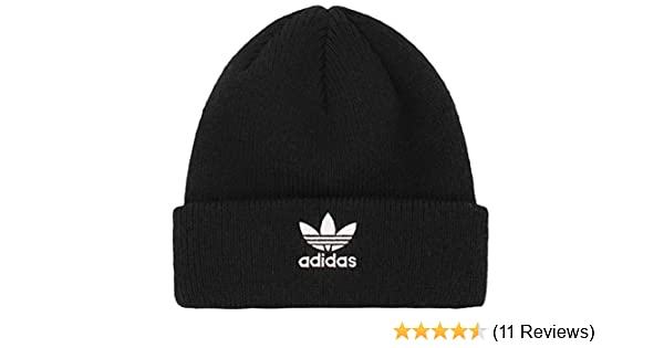 ef496ac76f366 Amazon.com  adidas Boys   Youth Originals Trefoil Beanie