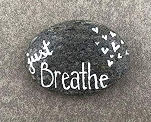 (Just Breathe - Hand Painted)
