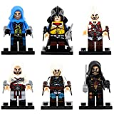 6pcs/lot Classic game characters Mini Assassin's