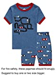 Kyпить Family Feeling Truck Little Boys Short Sleeve Pajamas Sets 100% Cotton Pyjamas Toddler Kids Pjs Size 3T Blue на Amazon.com