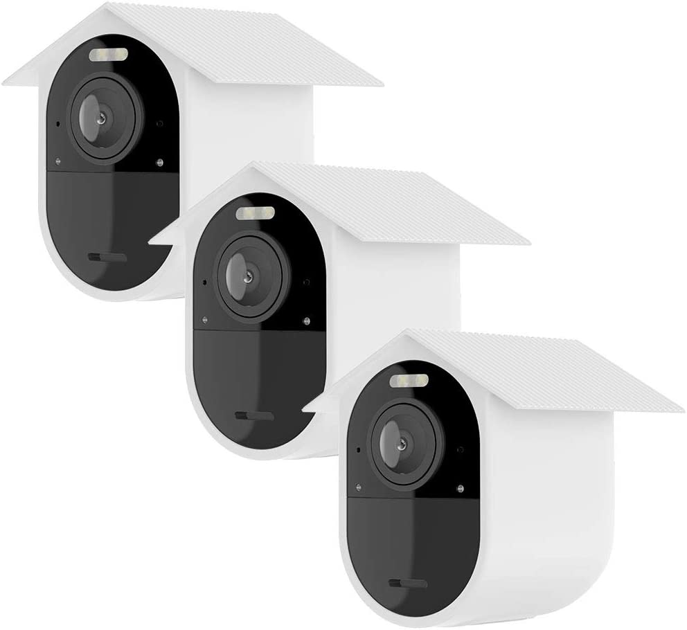 White 3 pcs Silicon Sleeves for Arlo Ultra Security Camera Skins for Arlo Pro3 Cam /& Mount Base by Sully - Ultra HD Series Skins w//Mount Cover Silicone Case for Arlo Ultra 4K /& Arlo Pro 3