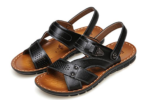 in Nero spiaggia uomo da pantofole Swallowuk pantofole Sandali per Z8FYxqf