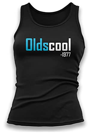 15807b12 Paranoid Penguin 40th Birthday Gifts For Women - Oldscool 1977 Womens Ladies  Vest - 40th Birthday Gift Ideas - 40th Birthday Presents: Amazon.co.uk: ...