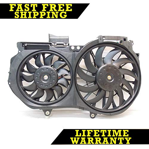RADIATOR CONDENSER COOLING FAN FOR AUDI FITS A4 QUATTRO 3.2 3.0 V6 AU3115108 ()