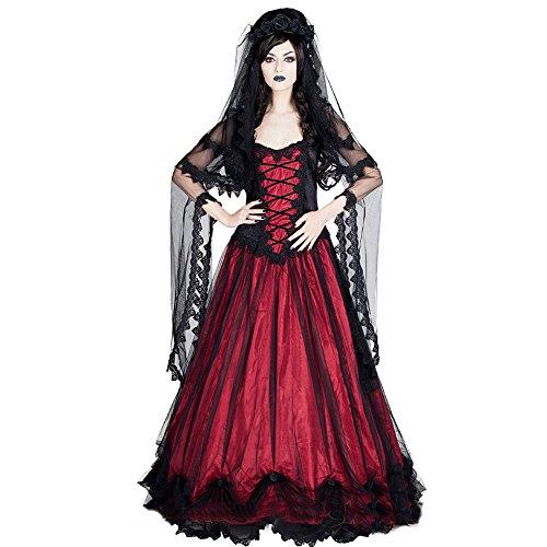 Sinister Kleid Red Gothic Empire