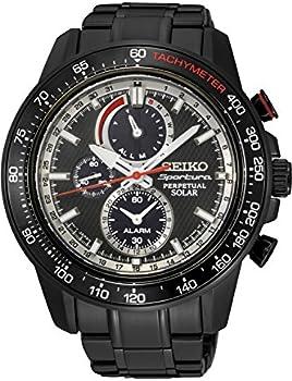 Seiko Sportura Men's Quartz Solar Watch