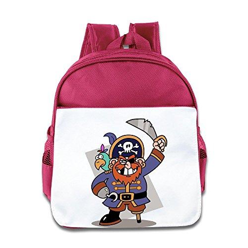 VOLTE Captain Barbossa Pink Backpack Bag For Children School Travel Schoolbag