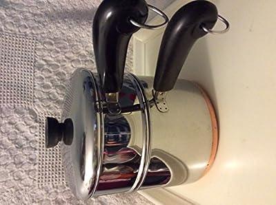 Vintage Revereware Copper Clad 3 Qt/ Steamer Set (3 pc)