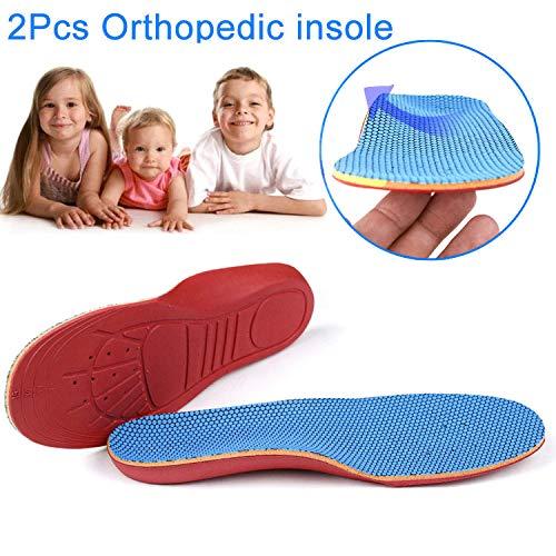 Symboat Semelles Chaussures 1 Paire de Semelles orthopédiques pour Enfants